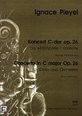 Okładka: Pleyel Ignaz Joseph, Koncert C-dur op. 26 na wiolonczelę i orkiestrę (wyciąg fortepianowy)