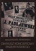 Okładka: Perkowska Małgorzata, Diariusz koncertowy I.J.Paderewskiego