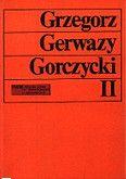 Okładka: Szweykowski Zygmunt Maria, Gorczycki G.G. Studia II.