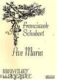 Okładka: Schubert Franz, Ave Maria