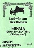 Okładka: Beethoven Ludwig van, Sonata quasi una fantasia - Księżycowa