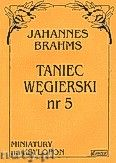 Okładka: Brahms Johannes, Taniec węgierski nr 5