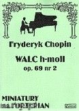 Okładka: Chopin Fryderyk, Walc h-moll op. 69 nr 2