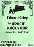 Okładka: Grieg Edward, W grocie Króla Gór, op. 46 nr 4