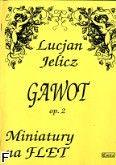 Okładka: Jelicz Lucjan, Gawot op. 2