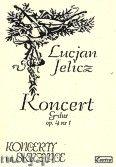 Okładka: Jelicz Lucjan, Koncert G-dur op. 4 nr 1