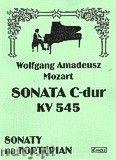 Okładka: Mozart Wolfgang Amadeusz, Sonata C-dur KV 545