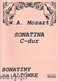 Okładka: Mozart Wolfgang Amadeusz, Sonatina C-dur