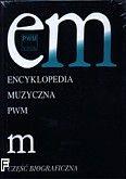 Okładka: , Encyklopedia muzyczna PWM t.6 - litera M