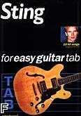 Okładka: Sting, 19 Hit Songs For Easy Guitar TAB