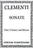 Okładka: Clementi Muzio, Sanata G-dur op.2, nr 3