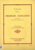 Okładka: Weber Carl Maria von, Concerto f-moll nr 1 Op. 73