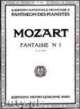 Okładka: Mozart Wolfgang Amadeusz, Fantaisie No. 1 - C Major