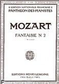 Okładka: Mozart Wolfgang Amadeusz, Fantaisie No 2 En ut mineur