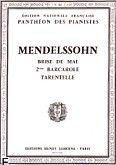 Okładka: Mendelssohn-Bartholdy Feliks, Romance N°25 : Brise de Mai