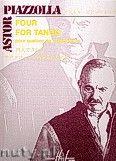 Okładka: Piazzolla Astor, Four For Tango - 4 Saxophones Trans. VOIRPY