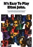 Okładka: John Elton, It's easy to play Elton John