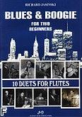 Okładka: Jasinski Richard, 10 duets for flutes. Blues & Boogie (duet fletów)