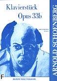 Okładka: Schönberg Arnold, Klavierstück op. 33b