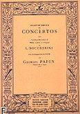 Okładka: Boccherini Luigi Rodolpho, Koncert e-moll na wiolonczelę i b.c.
