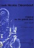 Okładka: Clérambault Louis Nicolas, Caprice sur les grands jeux