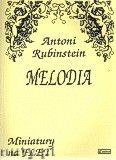 Okładka: Rubinstein Antoni, Melodia op. 3 nr 1