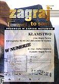 Okładka: , Zagraj to sam 2002/01