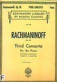 Okładka: Rachmaninow Sergiusz, Koncert fortepianowy nr 3 d-moll, op. 30