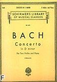 Okładka: Bach Johann Sebastian, Concerto In D Minor (Piano / Violin)