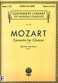 Okładka: Mozart Wolfgang Amadeusz, Concerto In A, Op. 107 (K.622) (Clarinet / Piano)