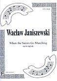 Okładka: Janiszewski Wacław, When the Saints Go Marching (score + parts)