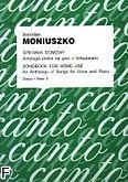 Okładka: Moniuszko Stanisław, Śpiewnik domowy. Antologia pieśni na głos z fortepianem z.2