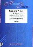 Okładka: Galliard Johann Ernst, Sonata nr 1 a-moll