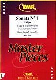 Okładka: Marcello Benedetto, Sonata nr 1 F-dur