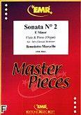 Okładka: Marcello Benedetto, Sonata nr 2 e-moll