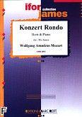 Okładka: Mozart Wolfgang Amadeusz, Konzert Rondo K 371 (Ifor James)