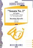 Okładka: Marcello Benedetto, Sonata nr 2 In E Minor