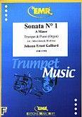 Okładka: Galliard Johann Ernst, Sonata nr 1 In A Minor