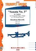 Okładka: Marcello Benedetto, Sonata nr 3 In A Minor