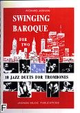 Okładka: Jasinski Richard, Swinging baroque for two