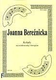 Okładka: Bereźnicka Joanna, Kolędy cz. 1 na wiolonczelę i fortepian