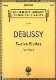 Okładka: Debussy Claude, Twelve Etudes