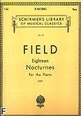 Okładka: Field John, Eighteen Nocturnes