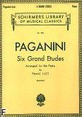 Okładka: Liszt Franz, Six Grand Etudes