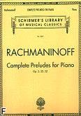 Okładka: Rachmaninow Sergiusz, Complete Preludes for Piano, Op. 3, 23, 32
