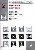Okładka: Dobrowolska-Marucha Danuta, Dyktanda muzuzyczne zeszyt 2, komplet z 3CD