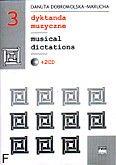 Okładka: Dobrowolska-Marucha Danuta, Dyktanda muzyczne zeszyt 3, komplet z 2CD