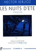 Okładka: Berlioz Hector, Les Nuits D'été (głos wysoki)