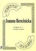 Okładka: Bereźnicka Joanna, Kolędy cz. 2 na trąbkę i fortepian