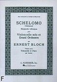 Okładka: Bloch Ernest, Schelomo. Rapsodia hebrajska (Cello / Piano)